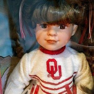 Collegiate Other - Big 12 Cheerleader Dolls; Texas & OU